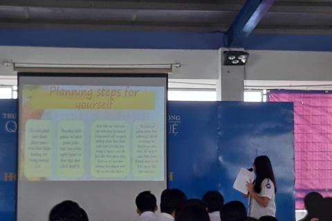 Cơ sở Nguyễn Kiệm sinh hoạt Thanh niên với năm học mới: Chủ đề học tập - làm việc có kế hoạch