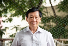 Thầy Huỳnh Kim Sen - Nguyên Giám đốc Trung tâm Thông tin và Chương trình Giáo dục - Sở GD&ĐT
