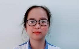 Cô Vũ Ngọc Tâm Vấn - Chủ nhiệm lớp 10C1