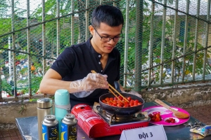 Hội thi làm mứt chào mừng Tết Canh Tý 2020 của giáo viên trường Quang Trung Nguyễn Huệ