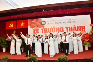 Lễ Trưởng thành Năm học 2017 - 2018