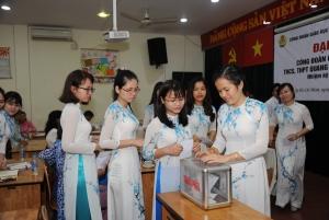 Đại hội Công đoàn cơ sở trường THCS, THPT Quang Trung Nguyễn Huệ nhiệm kỳ 2017 - 2022