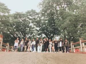 Học sinh tham quan học tập tại Bình Định