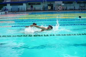 Thi - Tổng kết hoạt động dạy bơi cho các em học sinh