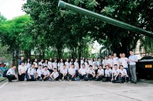Học sinh tham quan Bào tàng Chứng tích chiến tranh