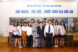 Giao lưu với trường đại học nữ Gwang Ju - Hàn Quốc