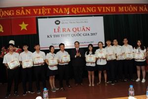 Lễ ra quân Kỳ thi THPT Quốc gia năm học 2016 - 2017
