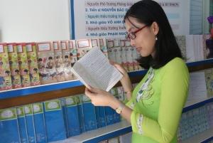 Cuộc thi Vở sạch chữ đẹp của các em học sinh THCS