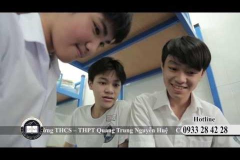 Trường THCS, THPT Quang Trung Nguyễn Huệ dấu yêu