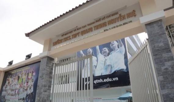 Giới thiệu Trường THCS, THPT Quang Trung Nguyễn Huệ