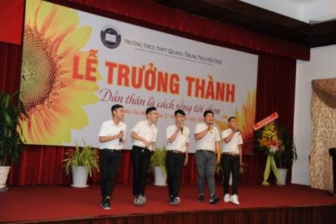 Lễ Trưởng thành Năm học 2016 - 2017