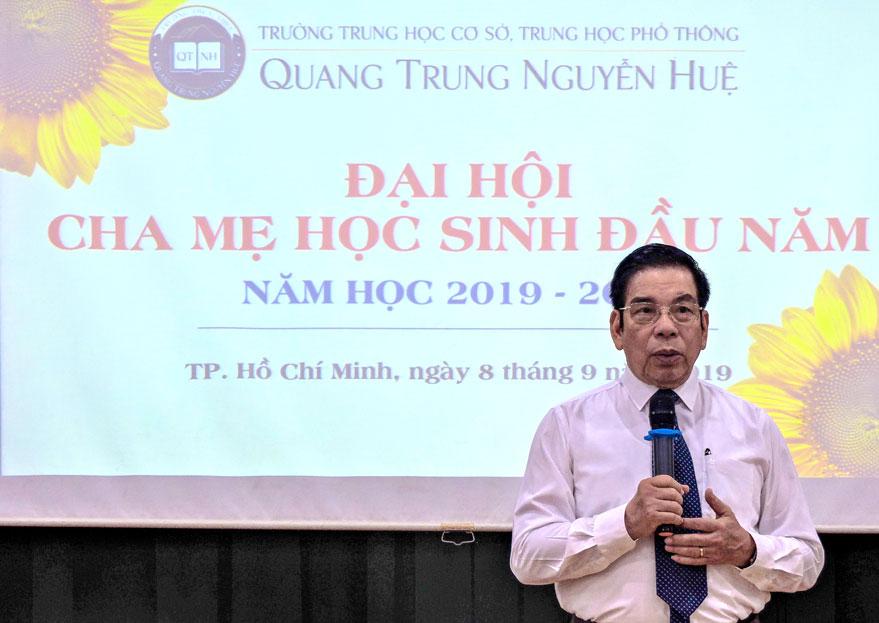 Đại hội Cha mẹ học sinh năm học 2019 - 2020